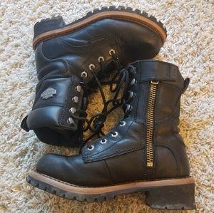 HARLEY DAVIDSON boots 🖤🧡